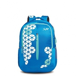 Skybags Pogo Plus 03 Blue Backpack