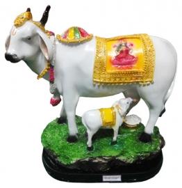Kamdhenu Cow Statue (r)
