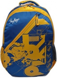 Skybags Pogo 01 Blue Backpack