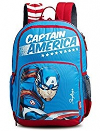 Skybags Marvel Champ Cap - Am 01 Blue