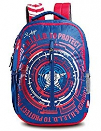 Skybags Marvel Cap-am-02 Blue