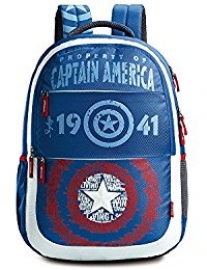 Skybags Marvel Plus Cap-am 02 Blue