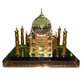 Crystal Taj Mahal (24k Gold Plated)-small