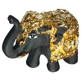 Elephant-b (terracotta-gold Plated)
