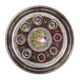 Pooja/aarti/shagun/panch Deepthali (meenakari)