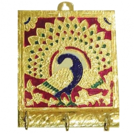 Meenakari Key Holder-small