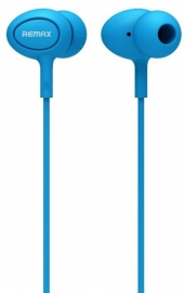 Remax Rm-515 High Performance Earphones With Microphone,in-ear Headphones Stereo Headset With Enhanced Bass,tangle-free Cord For Android Phones And Tablets (blue)