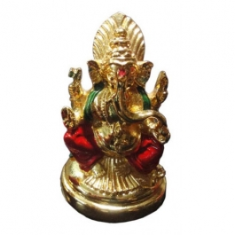 Ganesha Idol (24k Gold Plated)