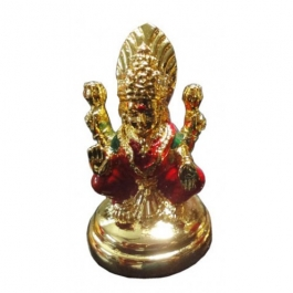 Laxmi Idol (24k Gold Plated)