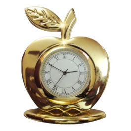 Gold Plated Apple Shape Watch