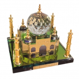 Crystal Taj Mahal (gold Plated)-big