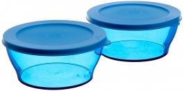 Tupperware Large Clear Bowl Set, 990ml, Set Of 2