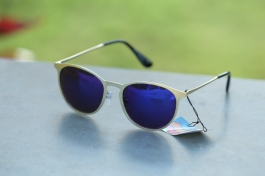 Fancy Trendy Square Branded Rb Blue Goggles Sunglasses For Men And Women