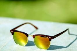 Sunglasses Stylish Yellow Aviator Goggles For Men