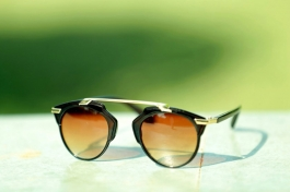 Stylish Mercury Round Brown Shadded Sunglasses