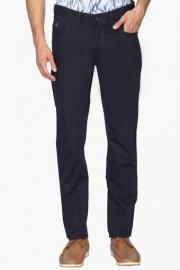 Mens 5 Pocket Regular Fit Solid Trousers