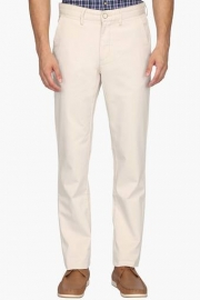 Mens 5 Pocket Regular Fit Solid Trousers