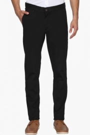 Mens 5 Pocket Slim Fit Solid Trousers