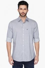 Allen Sollymens Slim Fit Slub Shirt