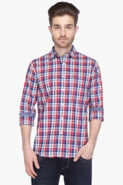 Allen Solly Mens Full Sleeves Casual Check Shirt