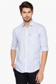 Allen Solly Mens Slim Fit Check Shirt