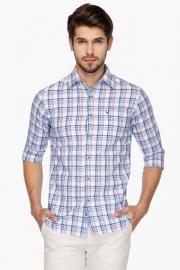 Allen Solly Mens Slim Fit Check Shirt