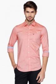 Allen Solly Mens Slim Fit Printed Shirt