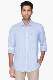 Allen Solly Mens Regular Collar Stripe Shirt