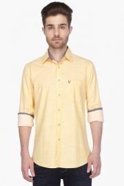 Allen Solly Mens Full Sleeves Casual Slub Shirt