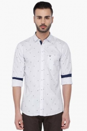 Allen Solly Mens Full Sleeves Casual Printed Shirt