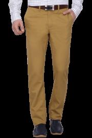 Mens 4 Pocket Slim Fit Solid Chinos