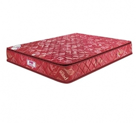 Peps Skbnlpt87860 8-inch Queen Size Spring Mattress (red, 78x60x8 Inches)