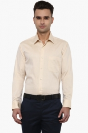 Mens Regular Fit Slub Shirt