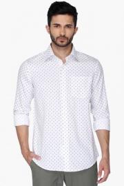 Mens Urban Slim Fit Printed Shirt