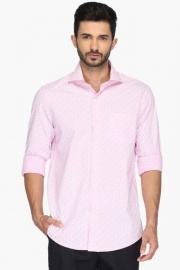 Mens Slim Fit Printed Shirt (urban Fit)