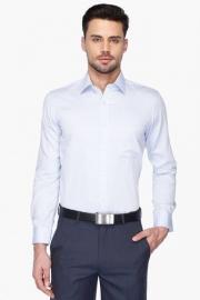 Mens Full Sleeves Slim Fit Formal Stripe Shirt