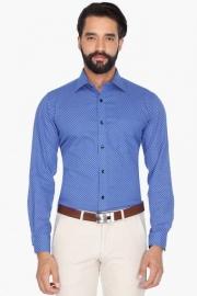 Mens Full Sleeves Formal Printed Shirt