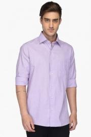 Mens Regular Fit Dotted Shirt