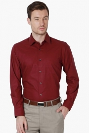 Peter England Mens Slim Fit Check Shirt