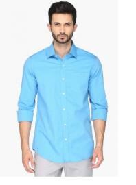 Mens Urban Slim Fit Slub Shirt