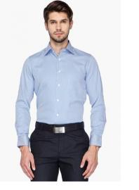 Mens Urban Slim Fit Solid Shirt