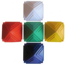 5 Piece Pyramid Colour Set