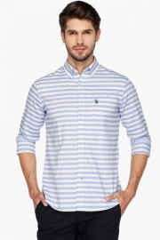U S Polo Mens Regular Fit Stripe Shirt