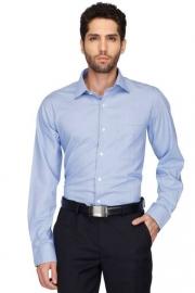 Mens Regular Collar Houndstooth Shirt
