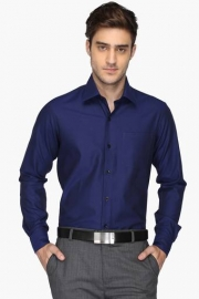 Mens Slim Fit Solid Anti Uv Shirt
