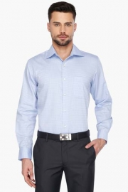 Mens Full Sleeves Formal Check Shirt