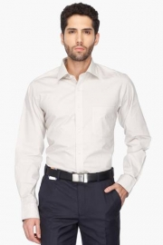Mens Regular Fit Solid Shirt