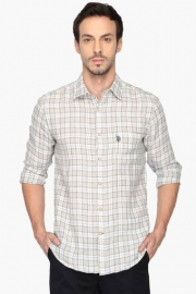 U S Polo Mens Regular Fit Check Shirt (jermyn Fit)