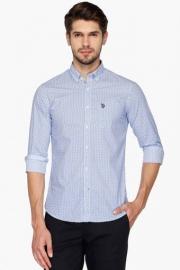 U S Polo Mens Regular Fit Printed Shirt