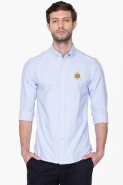 U S Polo Mens Regular Fit Solid Shirt